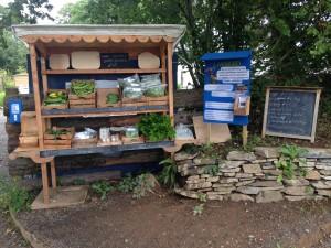 Market stall at LandWorks