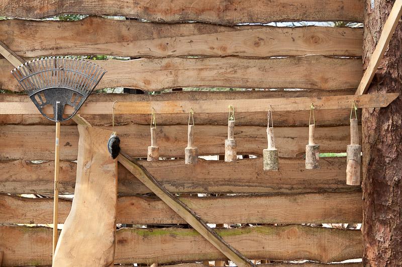 LandWorks tools in the workshop