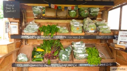 LandWorks Market Stall