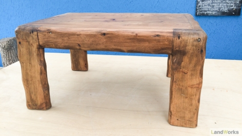 Coffee tables handmade at LandWorks