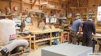 LandWorks Charity Wood Workshop