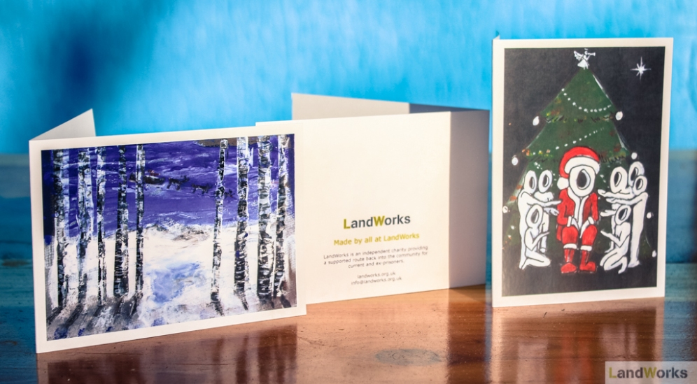 Christmas Cards made by All at LandWorks