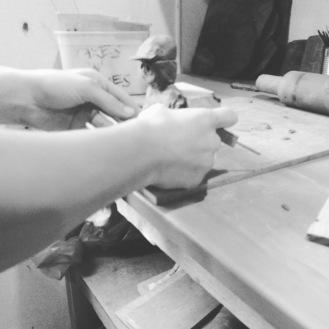 Ryan_sculpting_clay_rodney_art_hands_5